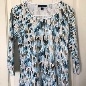 Karen Scott three-quarter sleeve shirt